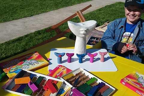 Летняя детская художественная студия в Доме Бурганова