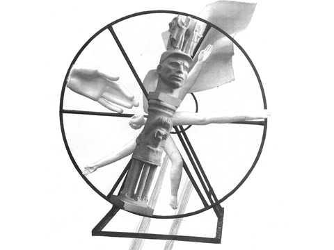 Выставка одной скульптуры. К 100-летию Октябрьской революции