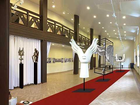 Музей «Дом Бурганова» в музее В.Д. Поленова