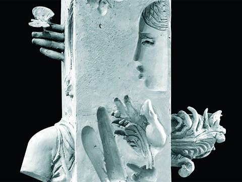 """""""Столб воздуха вокруг портрета"""". Закончена реставрация скульптуры"""