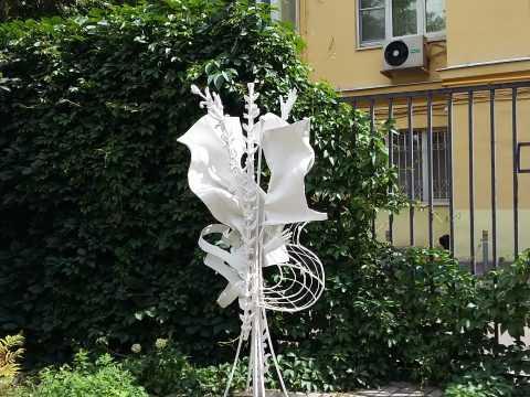 Новая скульптурная композиция в экспозиции музея
