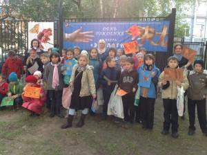 """День рождения сквера """"Экология"""", расположенного в переулке Сивцев Вражек, отметили в октябре в музее Дом Бурганова."""