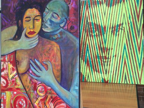 Выставка «Краски чувств. Маркос Марин и Ренато Родинер»