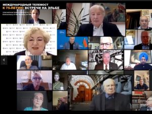 75 лет встречи на Эльбе. Международный телемост